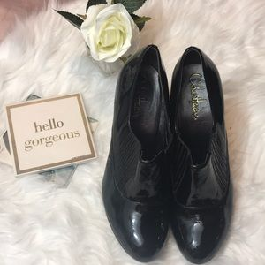 Cole Haan Nike Air Talia Patent Booties